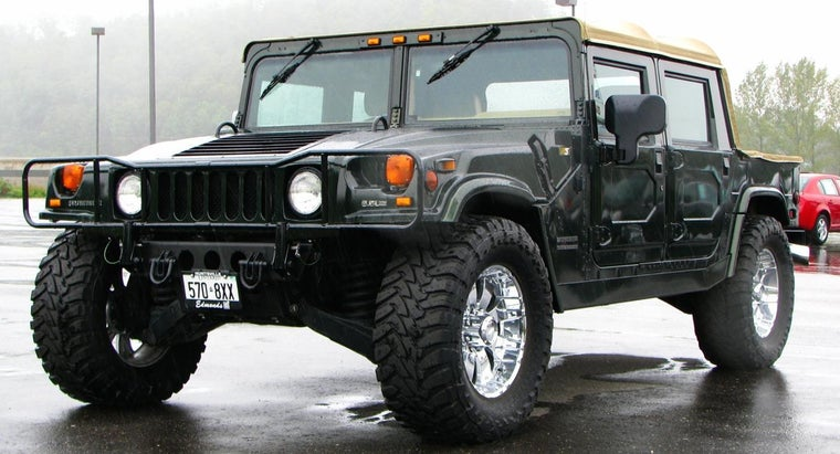 How Many Miles Per Gallon Does A Hummer Get
