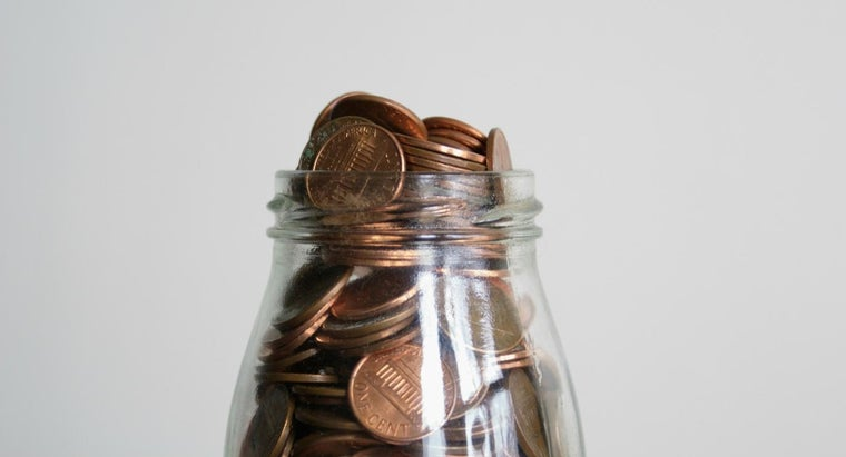 How Many Pennies Fit in a Gallon Jar?