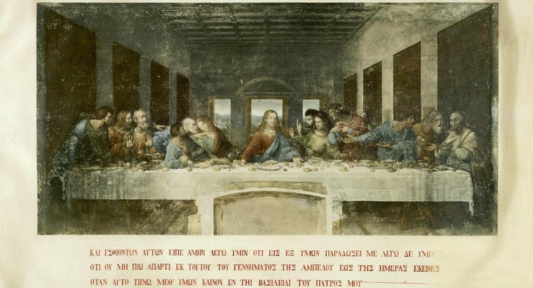 How Many People Were at the Last Supper?