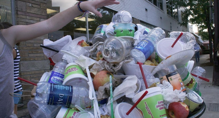 How Many Plastic Bottles Are Thrown Away Each Year?