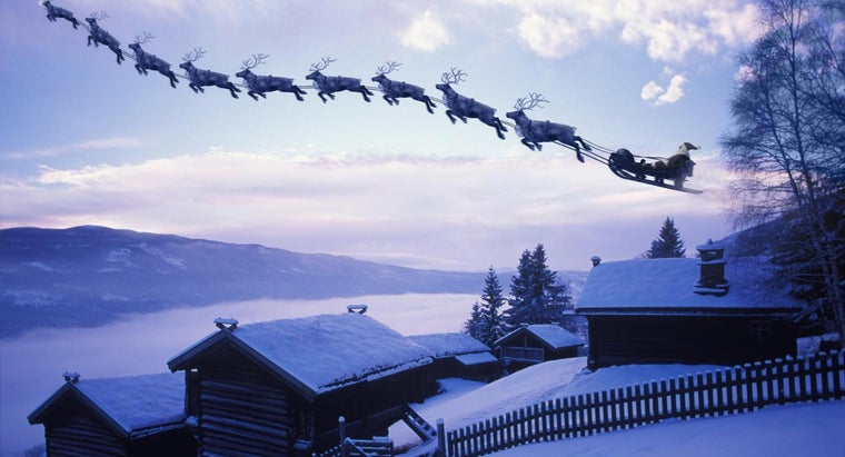 How Many Reindeer Does Father Christmas Have?