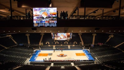 How Many Seats Are at Madison Square Garden?