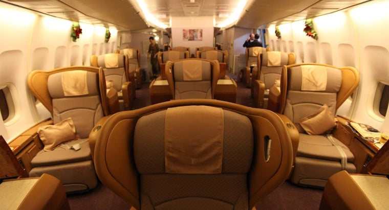 How Many Seats Are There in a Standard 747 Jumbo Jet?