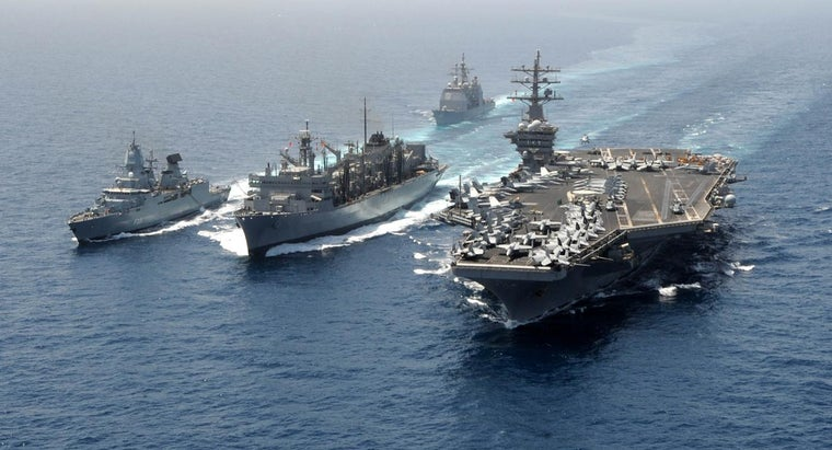 How Many Ships Does the U.S. Navy Have?