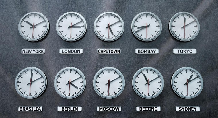 How Many Time Zones Are There in the World?