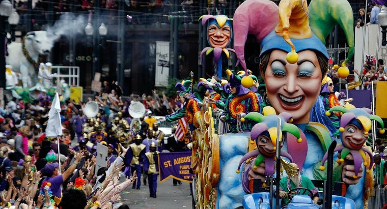 When Was Mardi Gras First Celebrated in the U.S.?