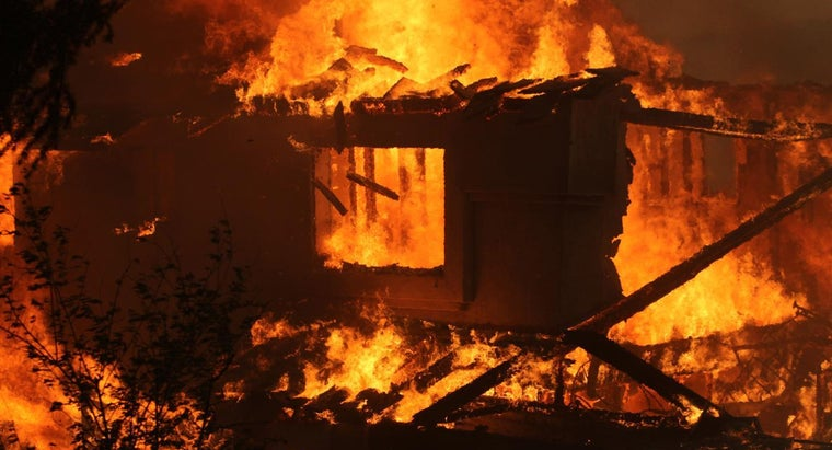 What Does It Mean When a House Burns Down in a Dream?