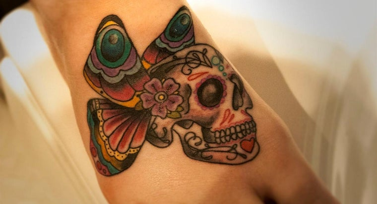 What Is the Meaning of a Candy Skull As a Tattoo?