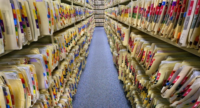 Where Are Medical Records Stored?