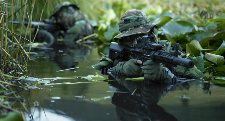 How Does Military Camouflage Work?