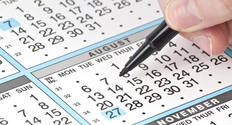 What Month Is August in the Calendar Year?