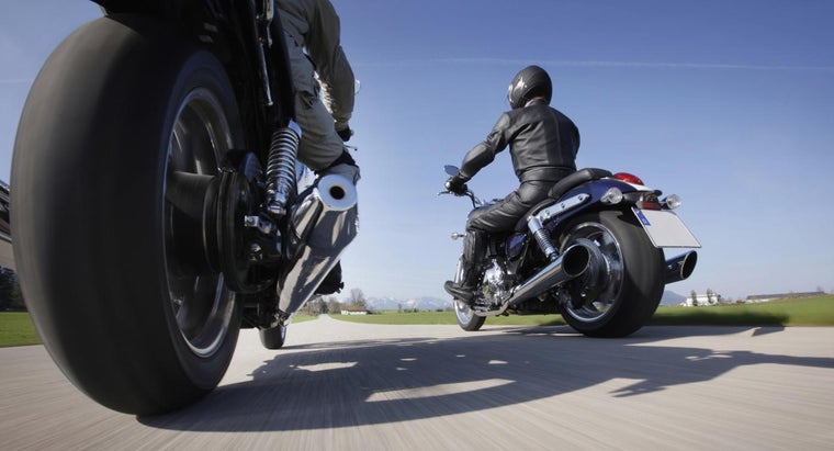 Are Motorcycle Tires Available on a Tire Size Comparison Chart?