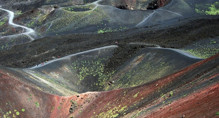 What Do Mount Etna in Sicily and Mount St. Helens in the U.S. Have in Common?