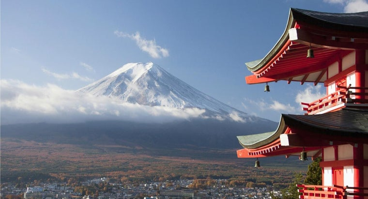 What Is the Eruption History of Mount Fuji?