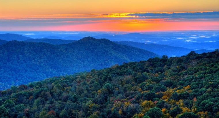 What Are the Mountains in Virginia?