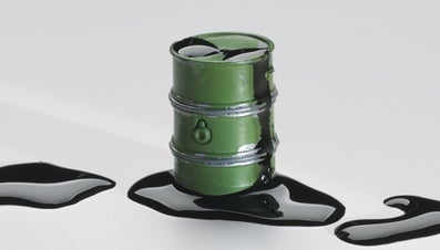 How Much Does a 55-Gallon Drum of Oil Weigh?