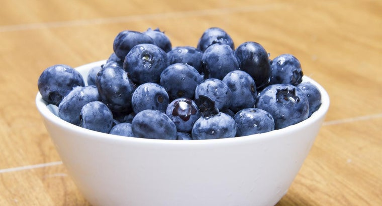 How Much Do Blueberries Weigh?