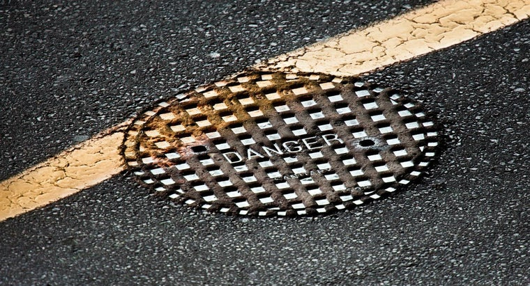 How Much Does a Manhole Cover Weigh?