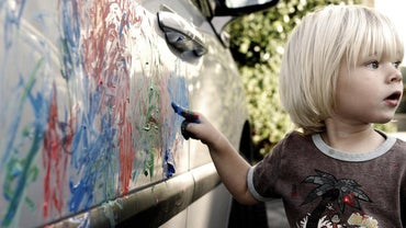 What Will Ruin a Car Paint Job? | Reference.com