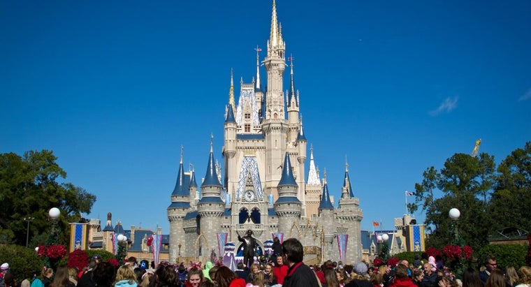 How Much Stone Was Used to Build Cinderella Castle?