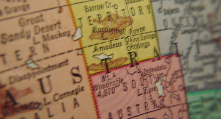 What Are the Names of the Countries in Australia?