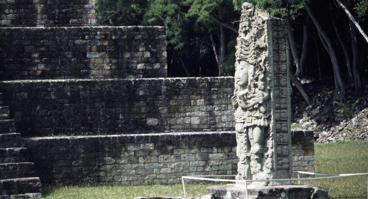 What Are the Names of Some Mayan Kings?