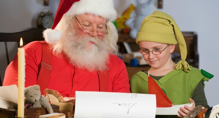 What Are the Names of Santa's Elves?