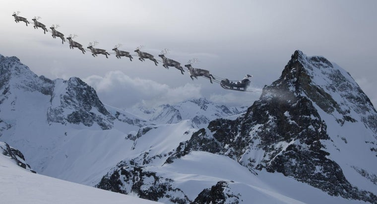 What Are the Names of Santa's Nine Reindeer?