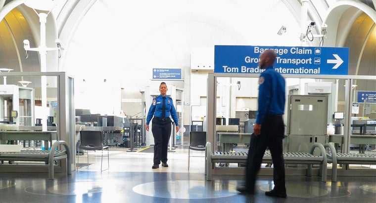 What Do You Need to Do to Complete a TSA Security Application?