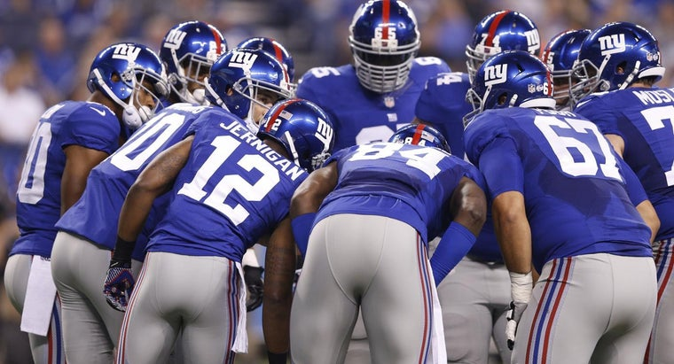 How Many Super Bowl Rings Have the New York Giants Won?