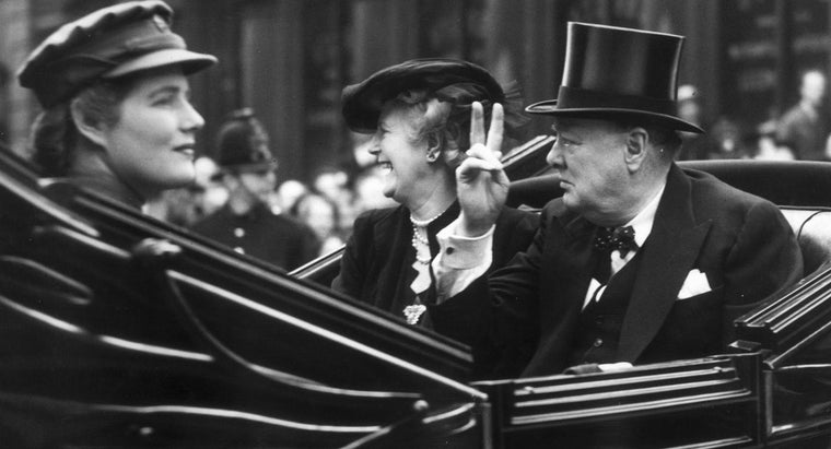 How Many Children Did Winston Churchill Have?