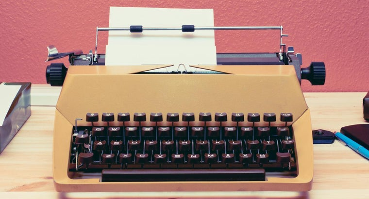 When Was the Typewriter Invented?