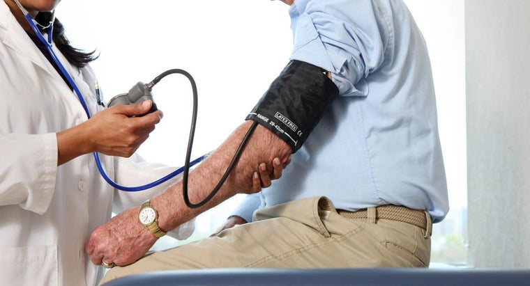 What Numbers Constitute High Blood Pressure?