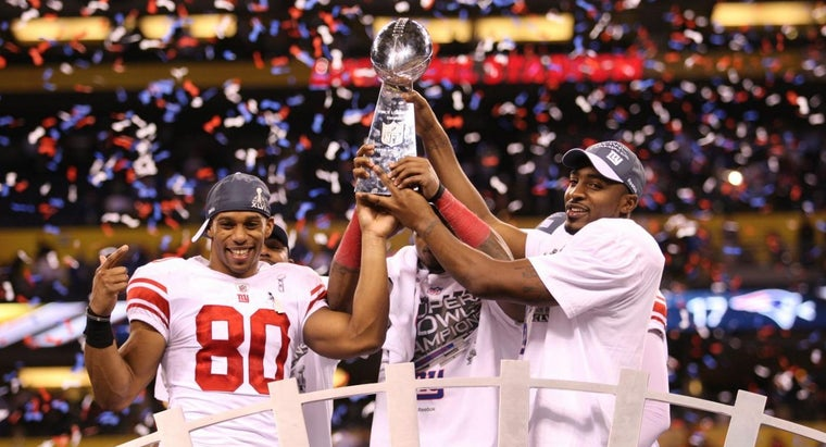 When Have the NY Giants Played in the Super Bowl?
