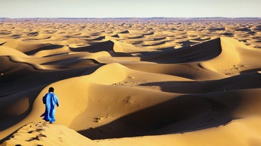 What Are the Occupations of Those Living in the Sahara Desert?