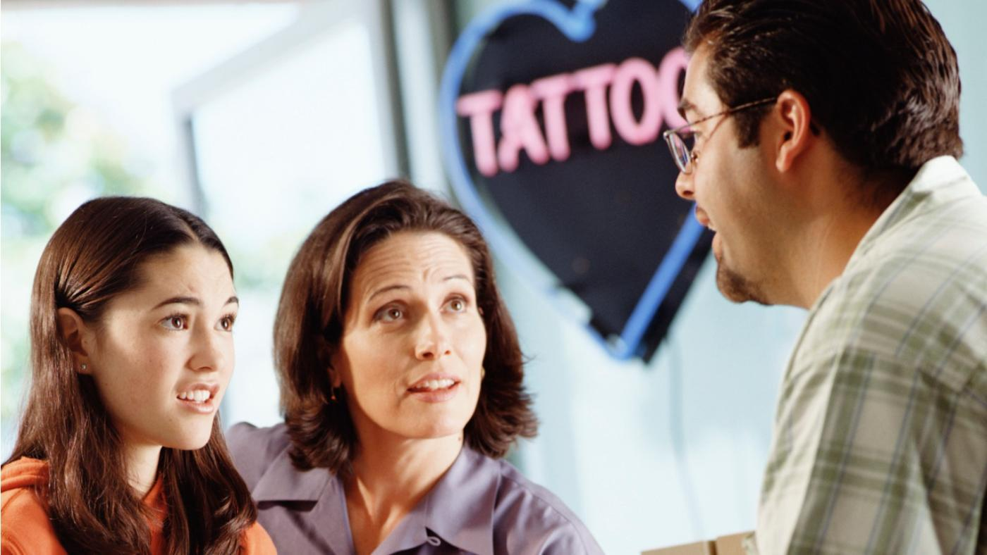 How Old Do You Have to Be to Get a Tattoo With Your Parent's Permission?