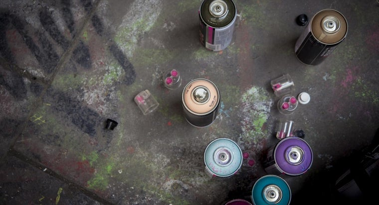 How Does One Remove Spray Paint From Plastic?