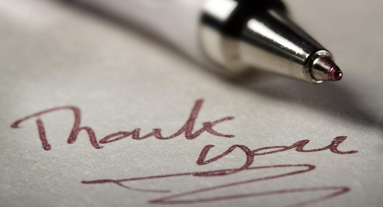 Is One Week After the Interview Too Late to Send a Thank You Note?
