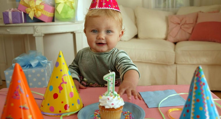 What Are Some One Year Old Birthday Ideas