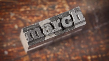 What Is the Ordinal Number for the Month of March?