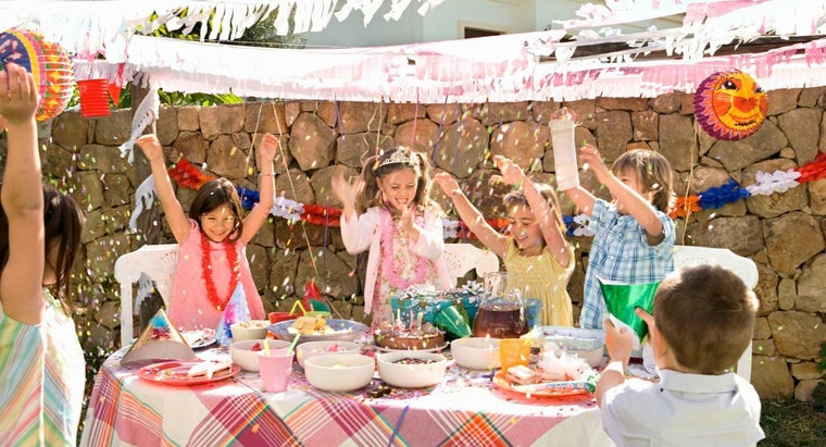 What Are Some Outdoor Party Ideas for Kids' Birthdays?