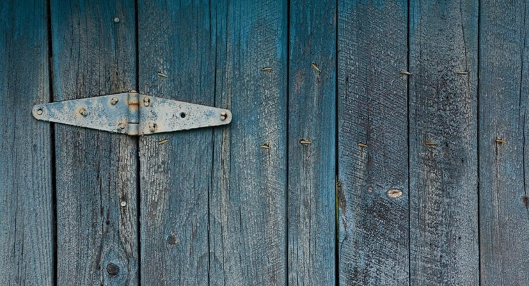 How Do You Paint an Exterior Wood Door?