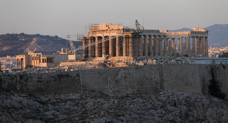 What Is the Parthenon Made Out Of?