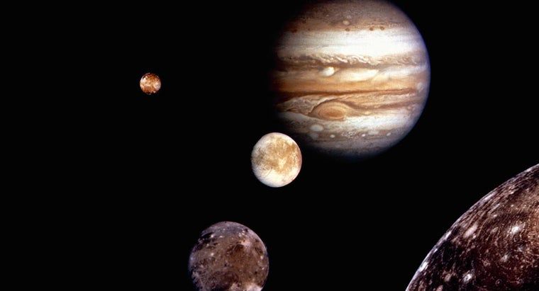What Planet Has the Largest Moon?