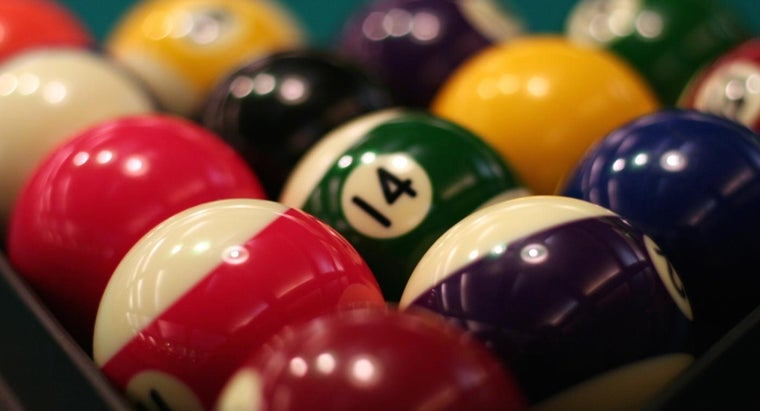 What Is a Pool Ball Made Of?