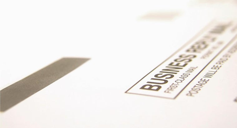 What Are Postage-Paid Envelopes?