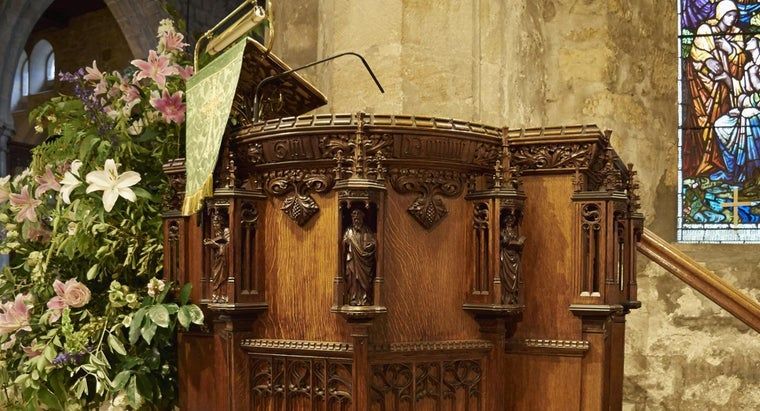 What Is a Pulpit Used for in a Church?