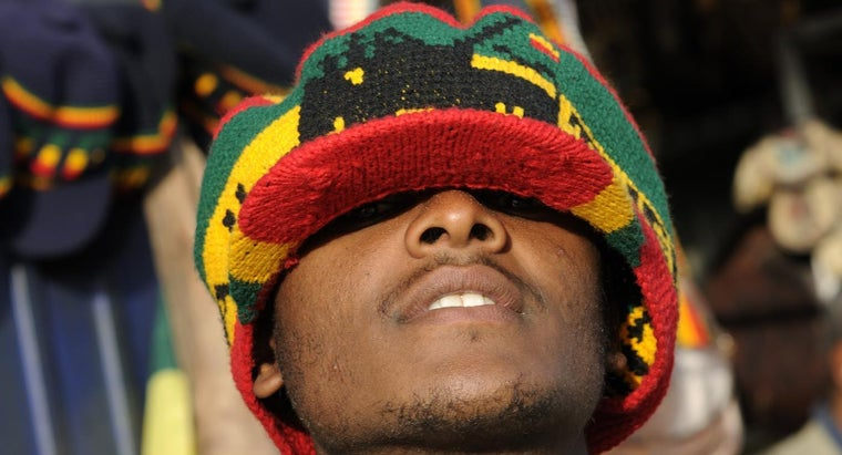What Do the Rasta Colors Stand For?