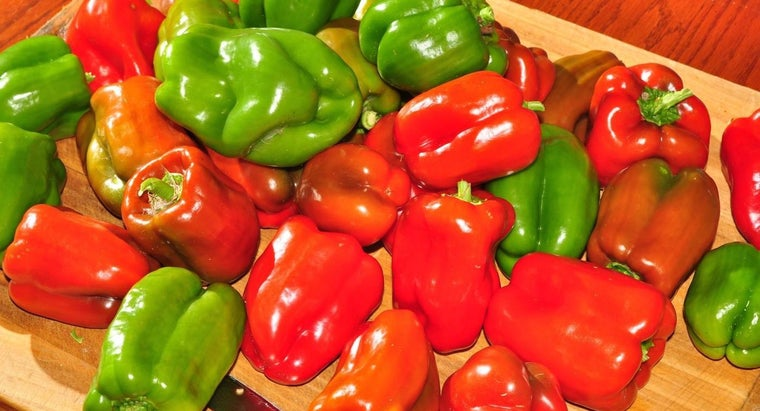 Why Do Red Peppers Cost More Than Green Peppers?