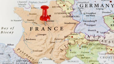 What Is the Relative Location of France?